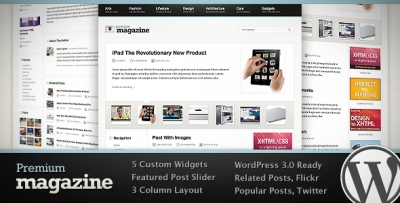 Premium Magazine WordPress Theme