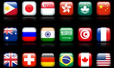 Free Country Flag Icon Set